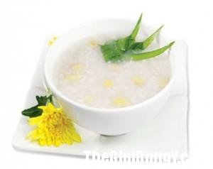 chao sau dau nanh 300x238 Món ăn cho người bị bệnh phổi