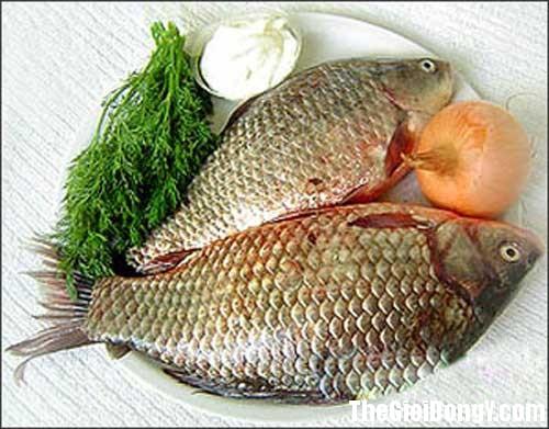 1304479676 ca chep1 Món ngon bổ dưỡng từ cá chép