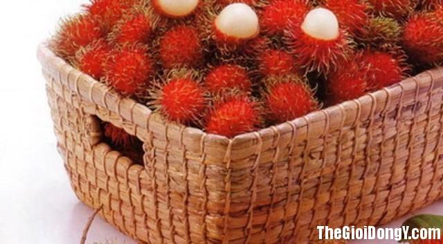 1 chom chom aeex 1438227133706 Công dụng chữa bệnh của quả chôm chôm