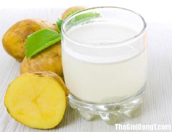 nuoc ep d elfv Uống nước ép khoai tây quá nhiều lợi ích cho sức khỏe