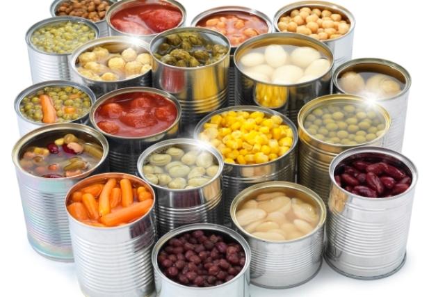 thuc pham dong hop 1261 Cảnh báo về sức khỏe khi ăn thực phẩm đóng hộp