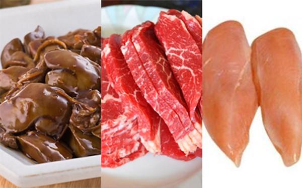 thuc pham nen an Những thực phẩm bổ sung sắt cực hiệu quả