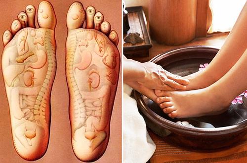 ngam chan dieu tri benh trung phong hieu qua Điều trị trúng phong hiệu quả với 9 công thức dùng nước ngâm chân