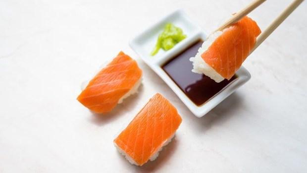 sushi3 Những nguyên tắc cần nên biết khi ăn sushi